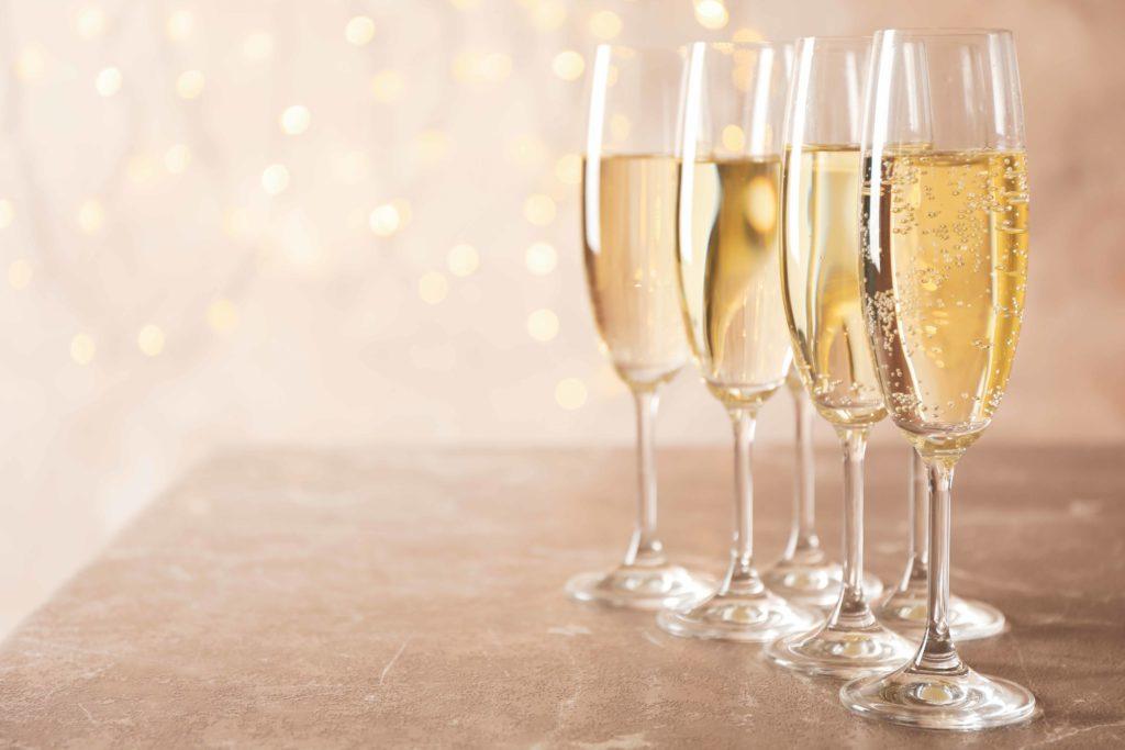 Bonne Année! Bubbles all week long!